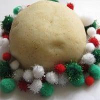 christmas theme play dough