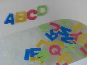 Alphabet Sponges 1