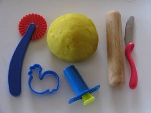 My favourite play dough recipe - How to make play dough -Easy recipe for making play dough by Learning 4 Kids
