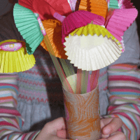 Flower crafts for kids