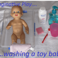 caring for a baby activities for kids