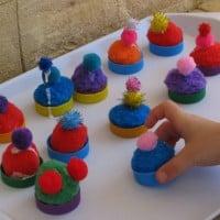 imagaintive play cupcakes