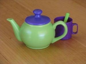 Words or lyrics for I'm a little tea pot nursery rhyme