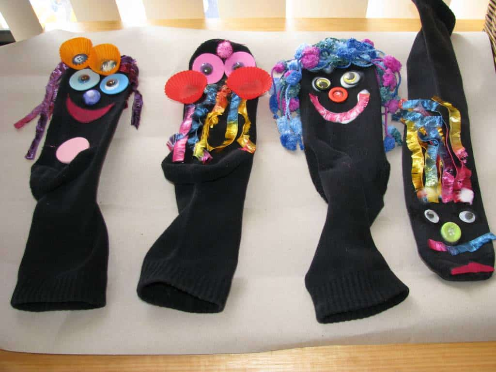 how to make handmade puppets ideas for sock puppets learning 4 1175