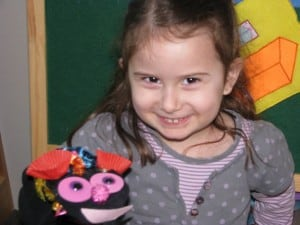 Sock puppets for imaginative play