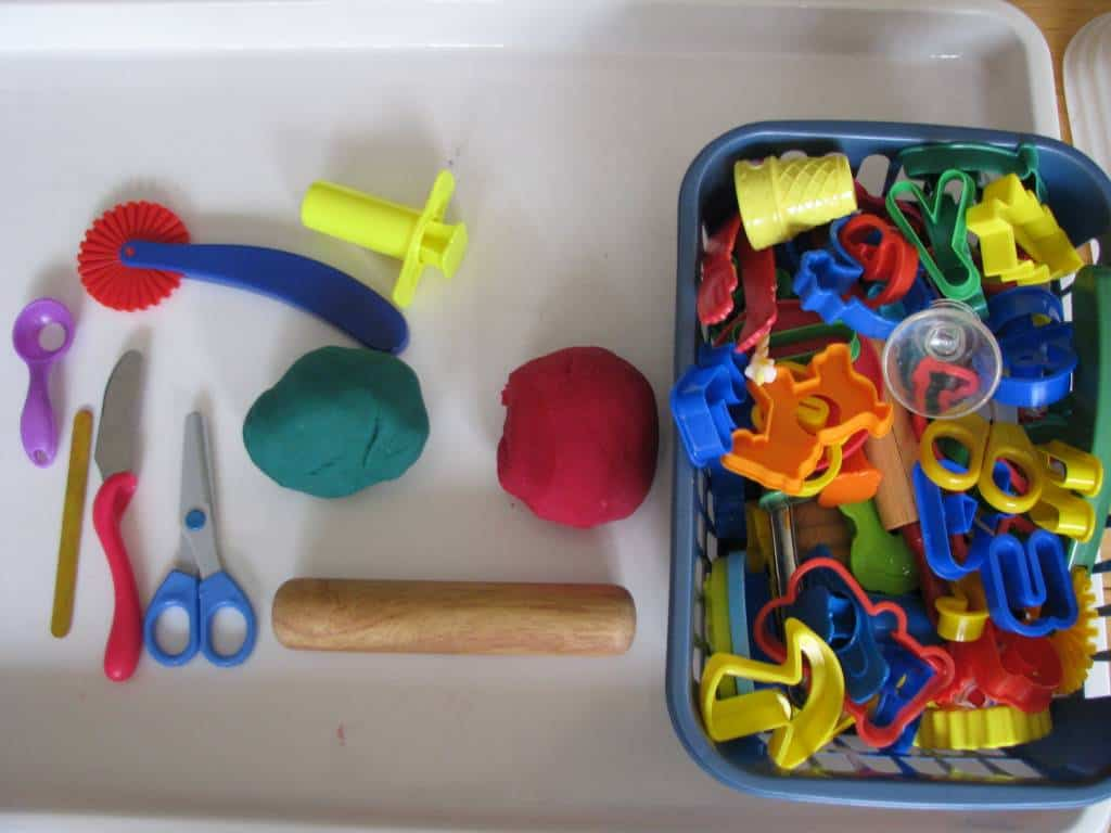 how to make dough for kids to play with