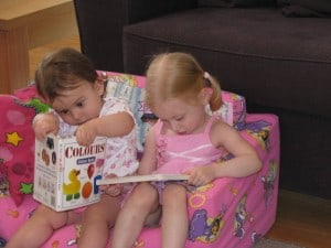 reading to kids, how to read to kids, providing somewhere to read