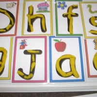 Printable Alphabet Play dough Mats
