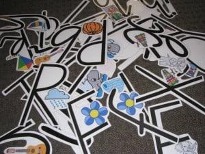 Alphabet Hide & Seek Game
