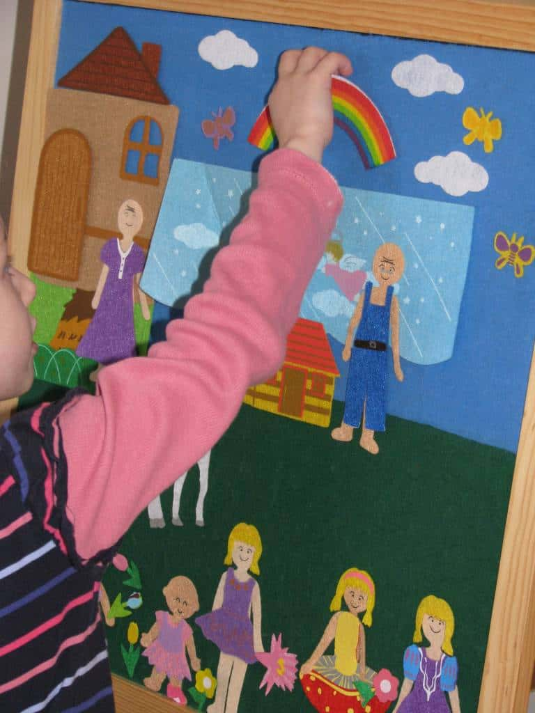 Entering The World Of Imagination With Felt Learning 4 Kids
