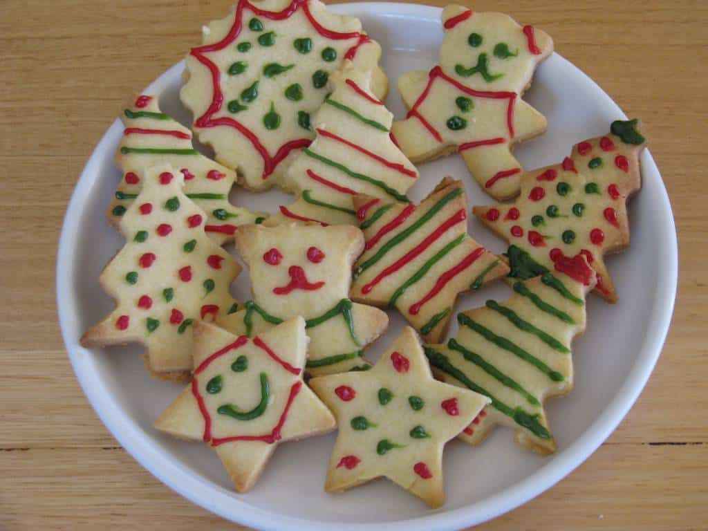 shortbread christmas cookies