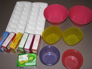 What you will need for jelly sensory play activity?