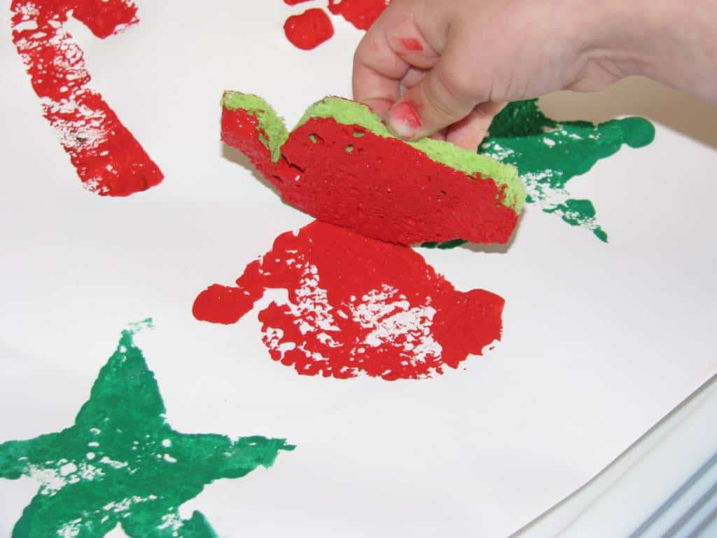 homemade christmas gift wrap learning 4 kids