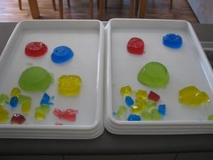 ideas for using jelly for play