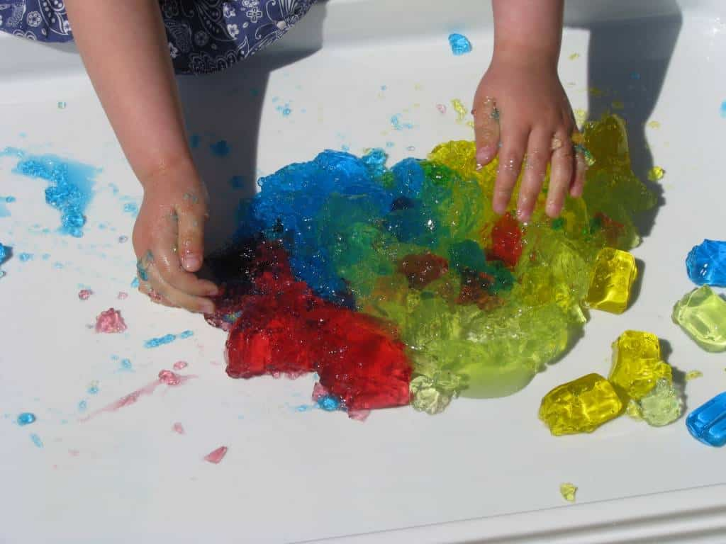 Sensory Play With Jelly Learning 4 Kids
