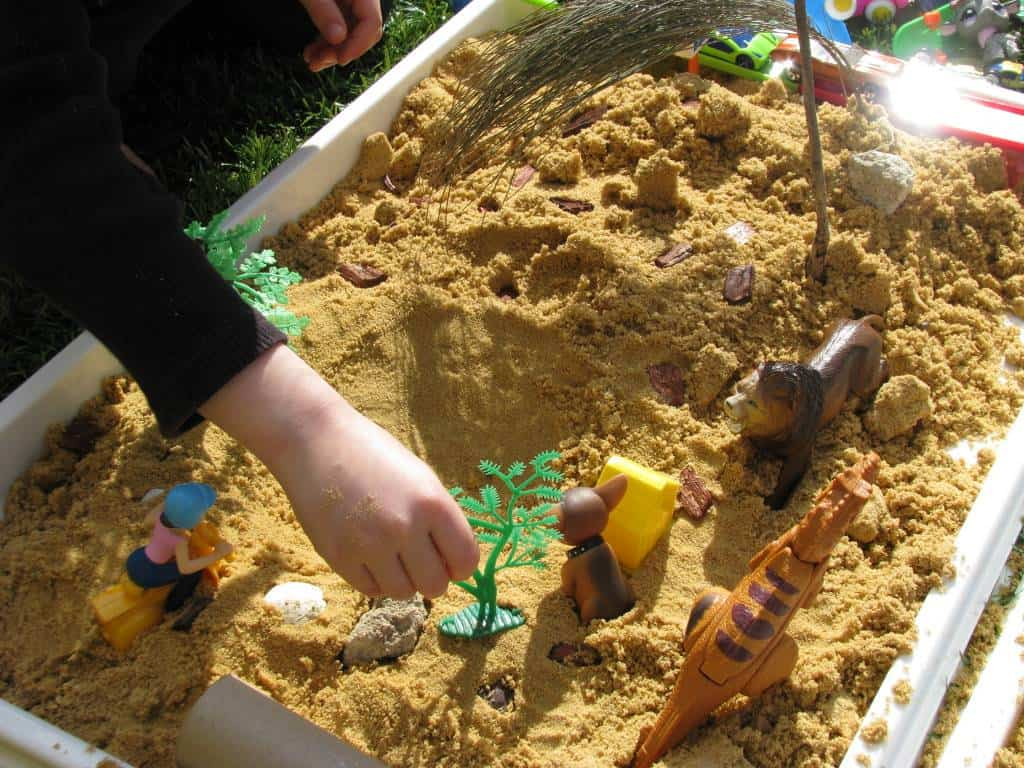 The Sand and Water Center in Child Care - eXtension