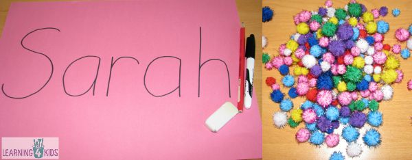 How to make a name collage