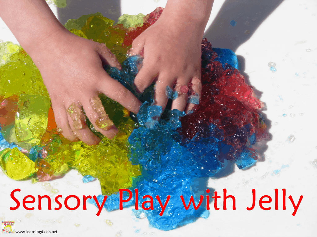 sensory activities for preschool sensory play with jelly learning 4 568