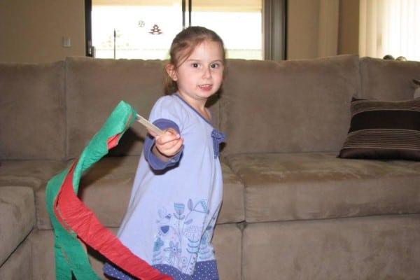Christmas Dance Streamers Learning 4 Kids
