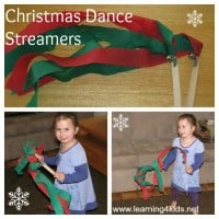 Christmas Dance Streamers
