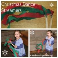 Christmas Dance Streamers