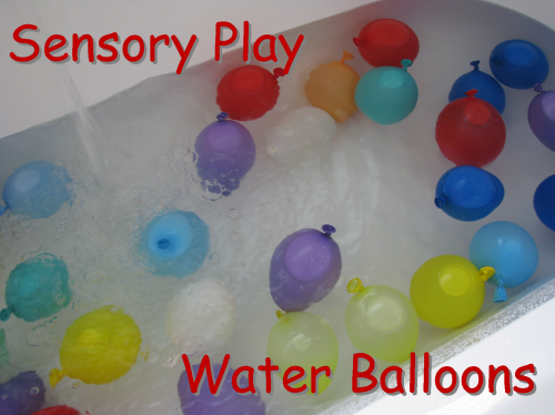 Water Balloons in the bath