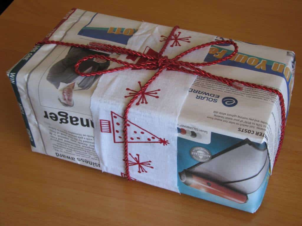 Using newspaper as gift wrap learning 4 kids using newspaper as gift wrap negle Choice Image