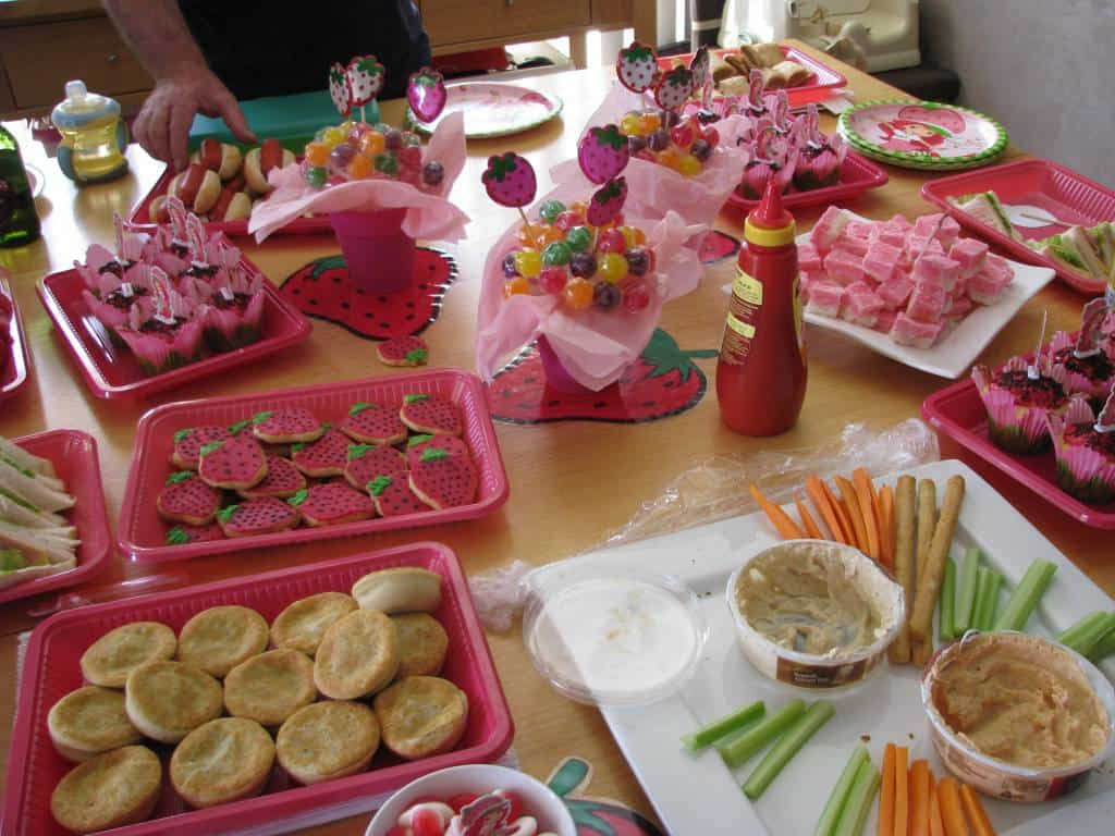 Our food table learning 4 kids - Kids party food table ideas ...