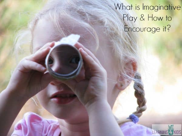What is imagiantive play and how to encourage it