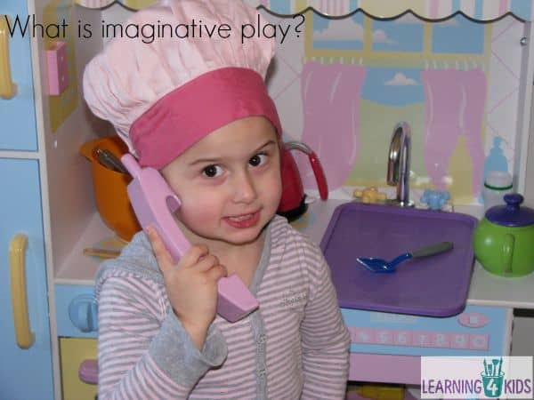 What is imaginative play