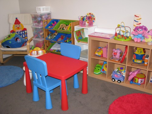 Ideas for setting up a play space for your kids