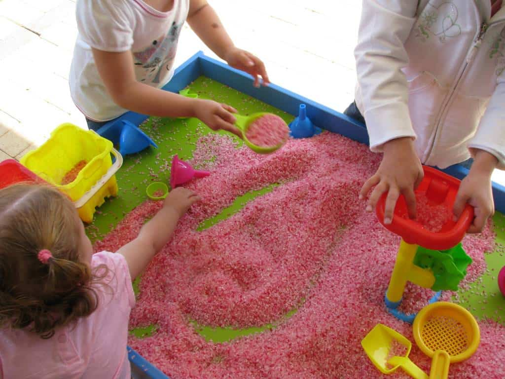 Scented Rice Sensory Play Learning 4 Kids