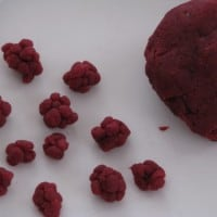 Blackberry play dough recipe and learning fun