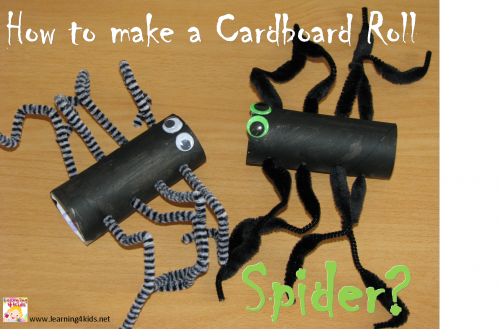 How to make a Spider for Halloween?