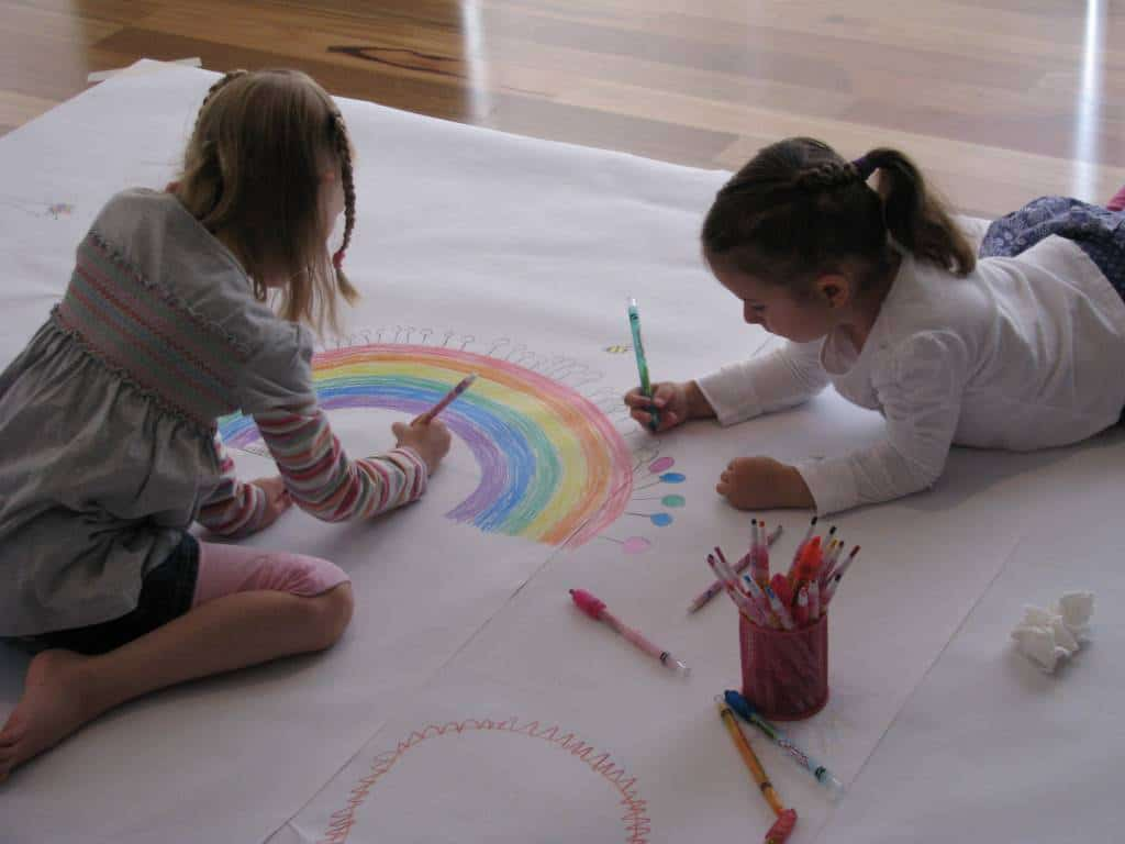 we - Drawing Paper For Kids