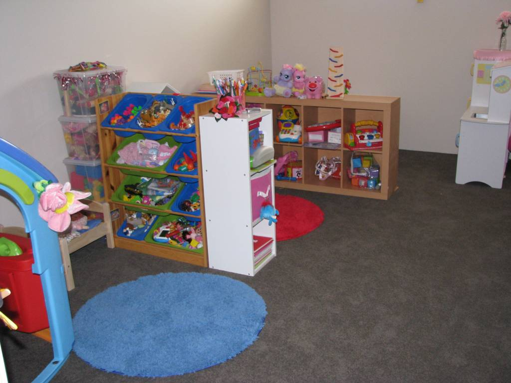 Our play room learning 4 kids for Living room zones