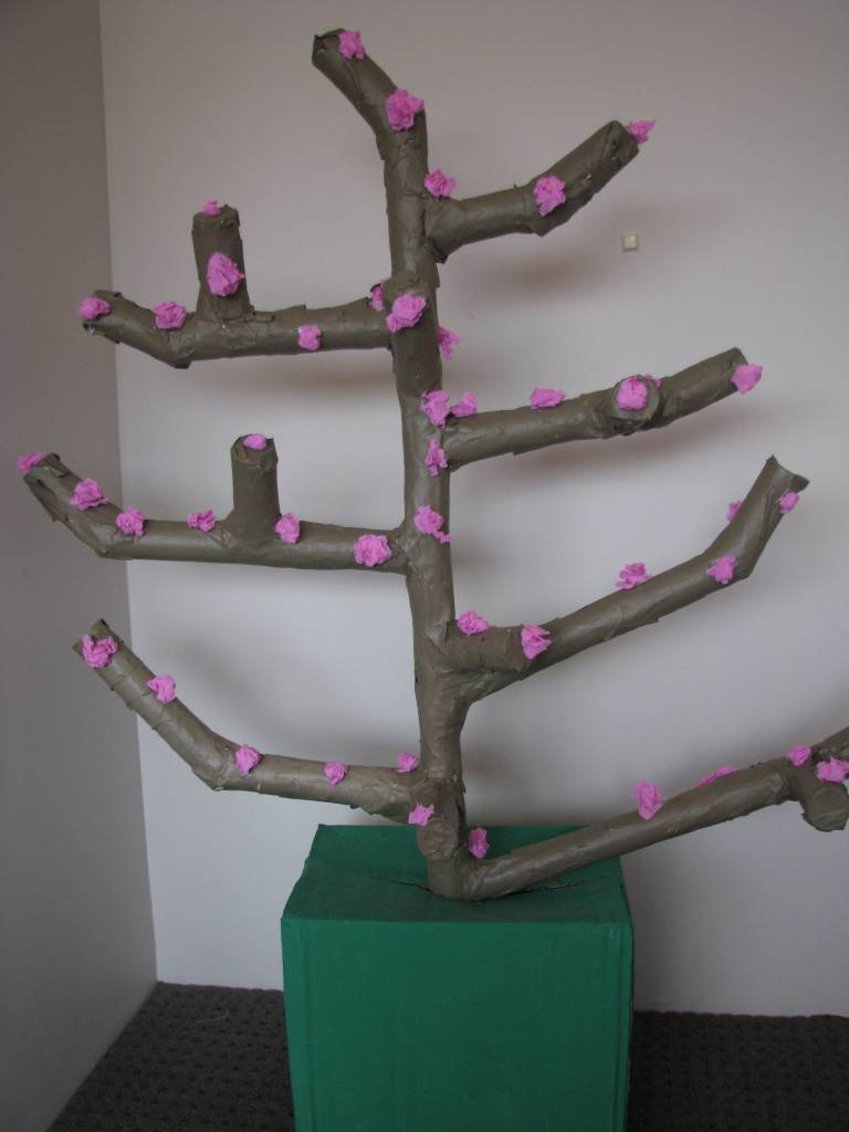 paper mache tree for all seasons learning 4 kids