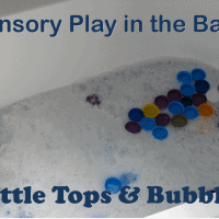 Bath activity ideas for kids and toddlers