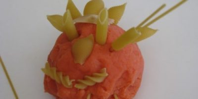 Play dough activity ideas for kids and toddlers - pasta and play dough fun