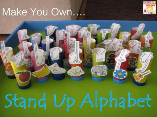 Alphabet activities for kids