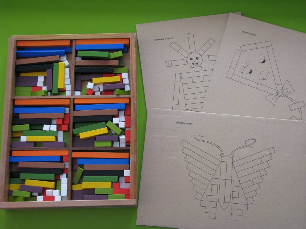 image about Cuisenaire Rods Printable named Qtoys Cuisenaire Studying Rods Overview Discovering 4 Youngsters