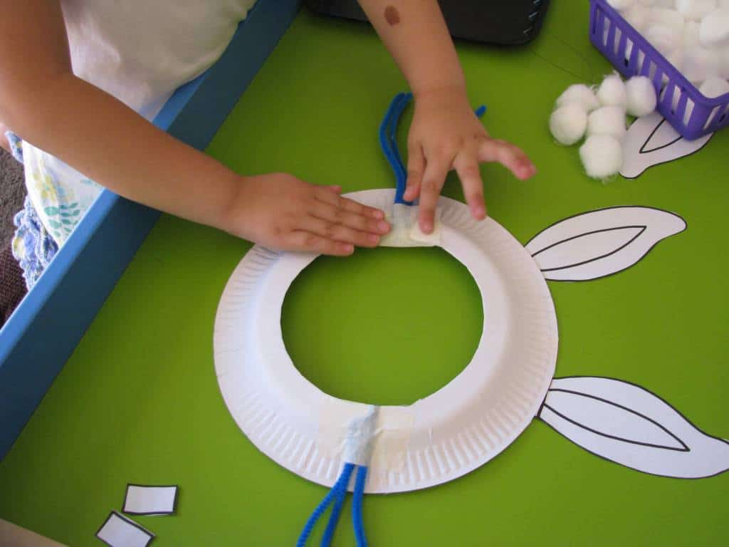 Save We Made Our Paper Plate Easter Bunny Masks