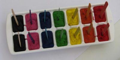Paint-Pops-melting paint activity