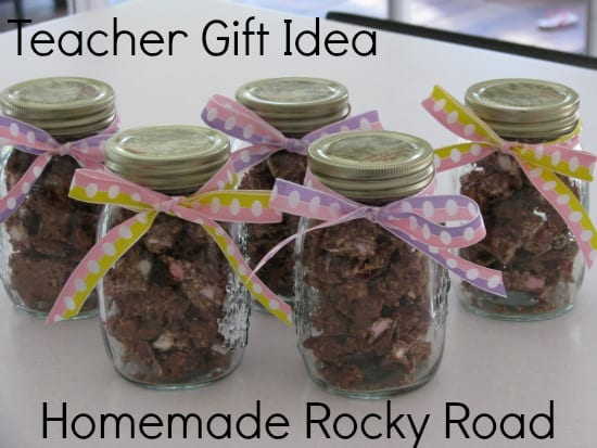 Rocky road easter gift for teachers learning 4 kids homemade teacher gift idea negle Image collections