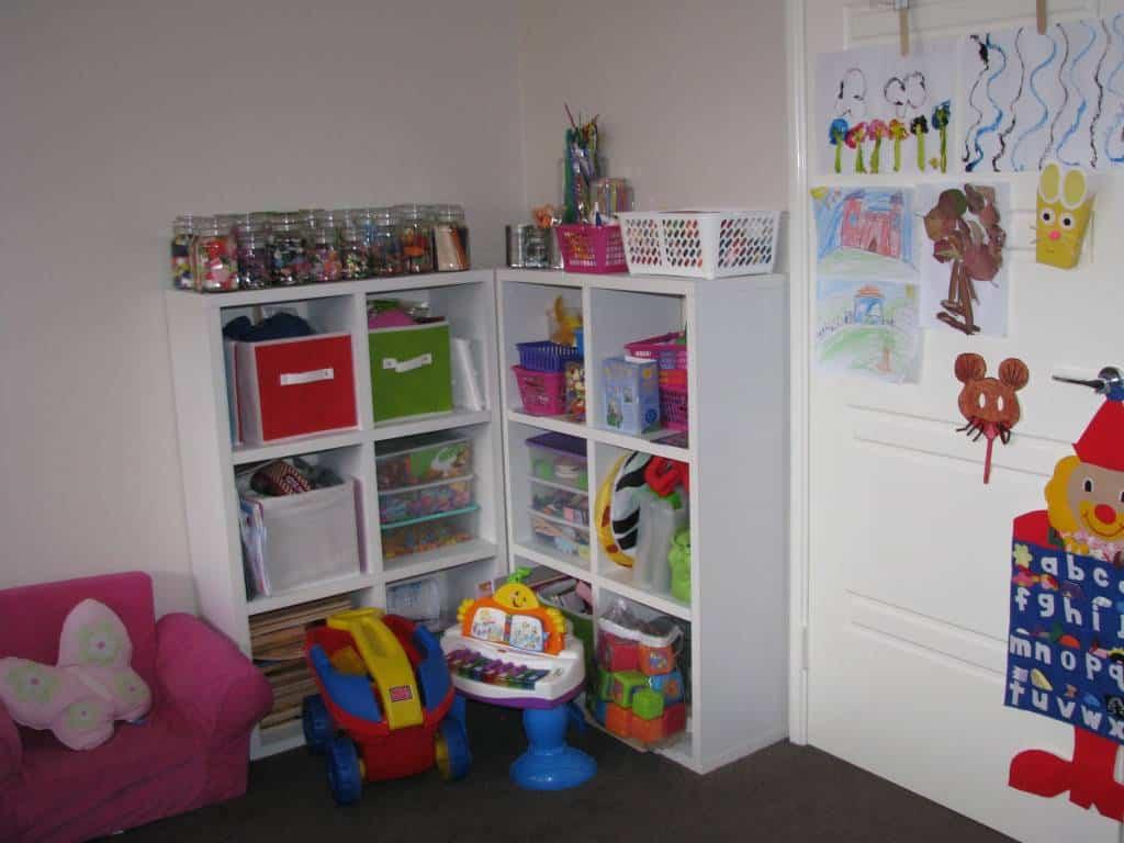 Playroom Ideas 4 Numbers Theme Learning Kids
