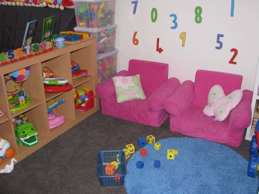 playroom ideas 4 - numbers theme | learning 4 kids
