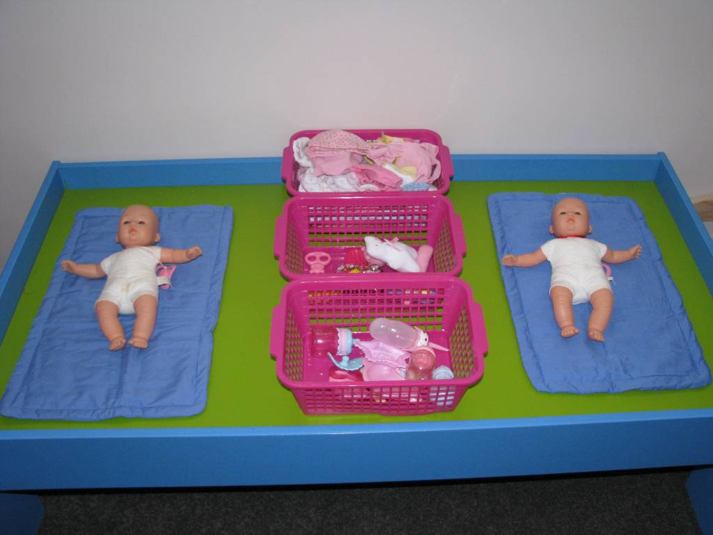 Imaginative Play - Baby Care Corner   Learning 4 Kids