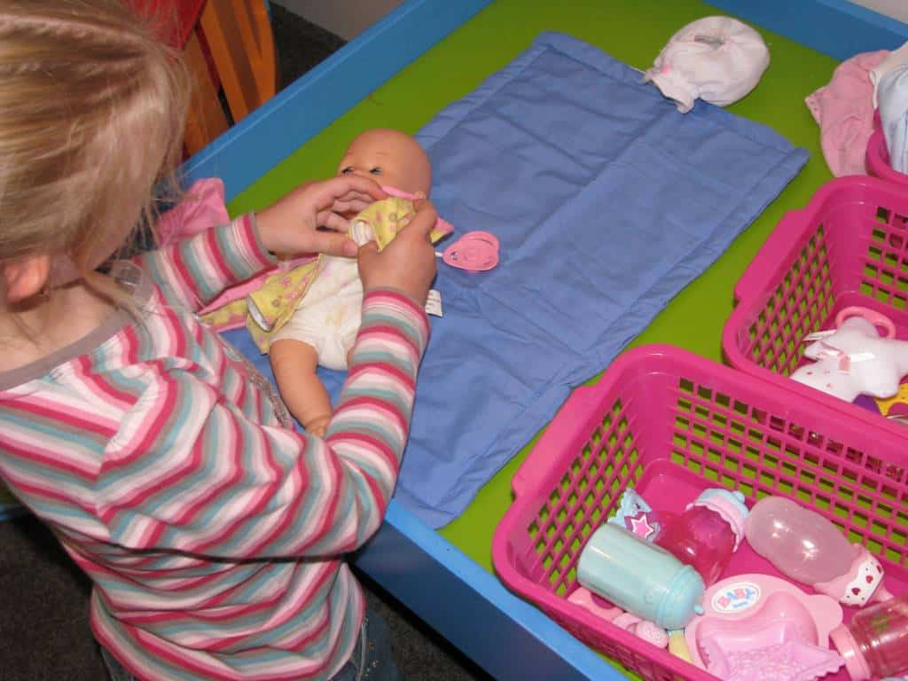 Imaginative Play - Baby Care Corner | Learning 4 Kids