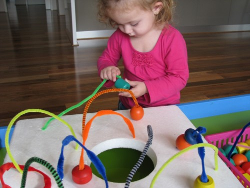 Pipe Cleaner Mazes Learning 4 Kids
