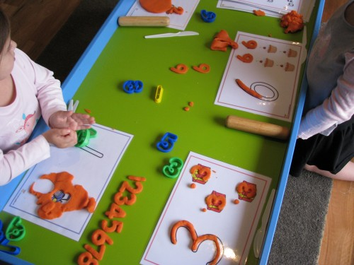 Number Play Dough Learning 4 Kids